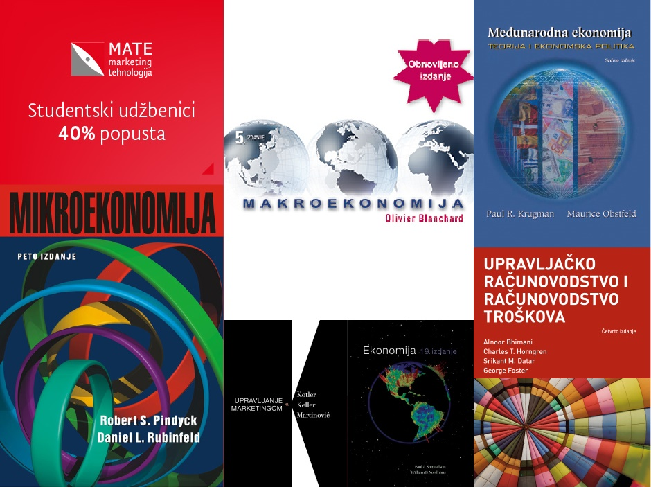 Studentska ponuda udžbenika
